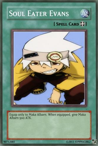 Soul YuGiOh! card