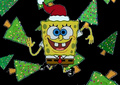 SpongeBob Holiday fondo de pantalla
