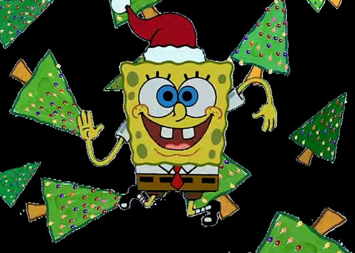 SpongeBob Holiday Wallpaper
