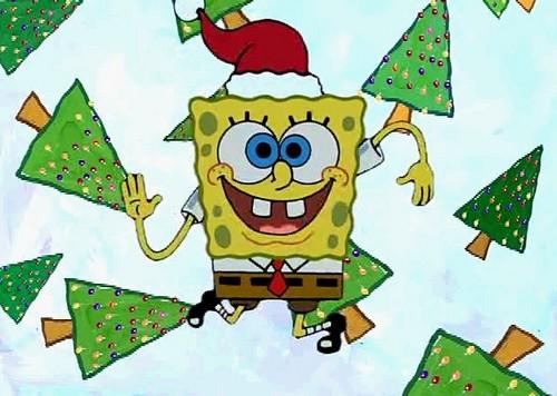 SpongeBob SquarePants hình nền entitled Spongebob giáng sinh 5