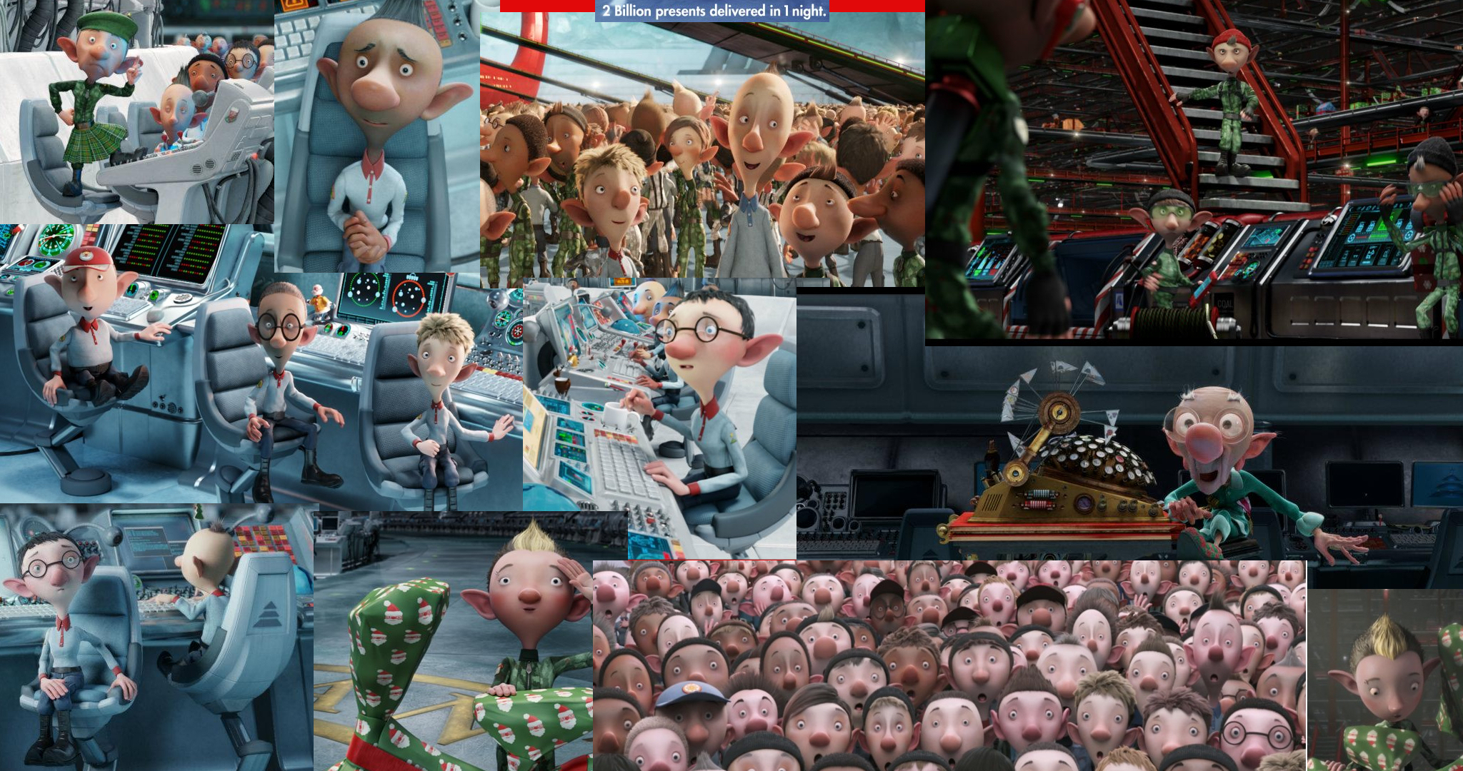 Arthur Christmas Elves