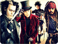 Sweeney, Wonka, Scissorhands & Sparrow - johnny-depps-movie-characters photo