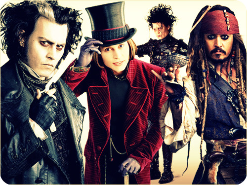 Sweeney, Wonka, Scissorhands & Sparrow