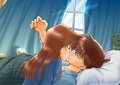 Sweet ^_^ - shinichi-kudo-and-ran-mouri fan art
