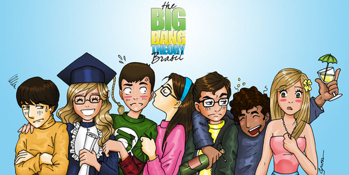 The Big Bang Theory wallpaper containing anime entitled TBBT