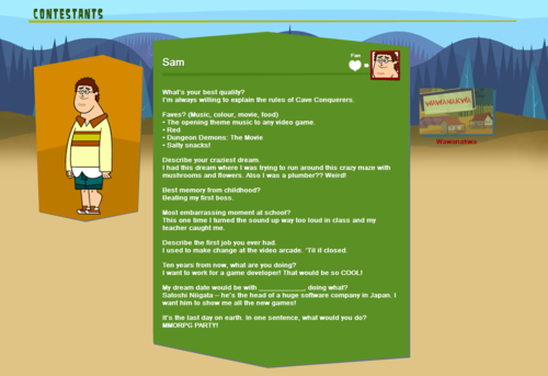 Total Drama Island wallpaper titled TDROTI character bios