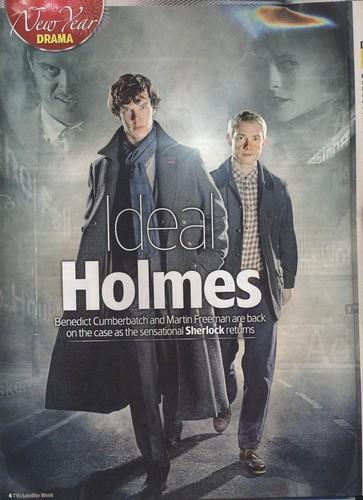 TV & Satellite Week featuring Sherlock series 2