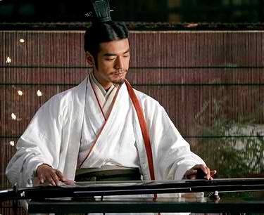 Takeshi Kaneshiro in a Red Cliff Scene (Zhuge Liang).
