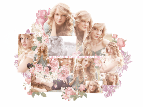 Taylor Swift wallpaper possibly with a bouquet entitled TaylorWallpapers!