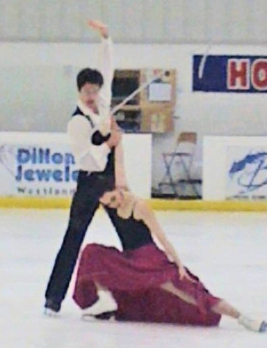 Tessa Virtue and Scott Moir at Arctic Edge in Canton, Michigan