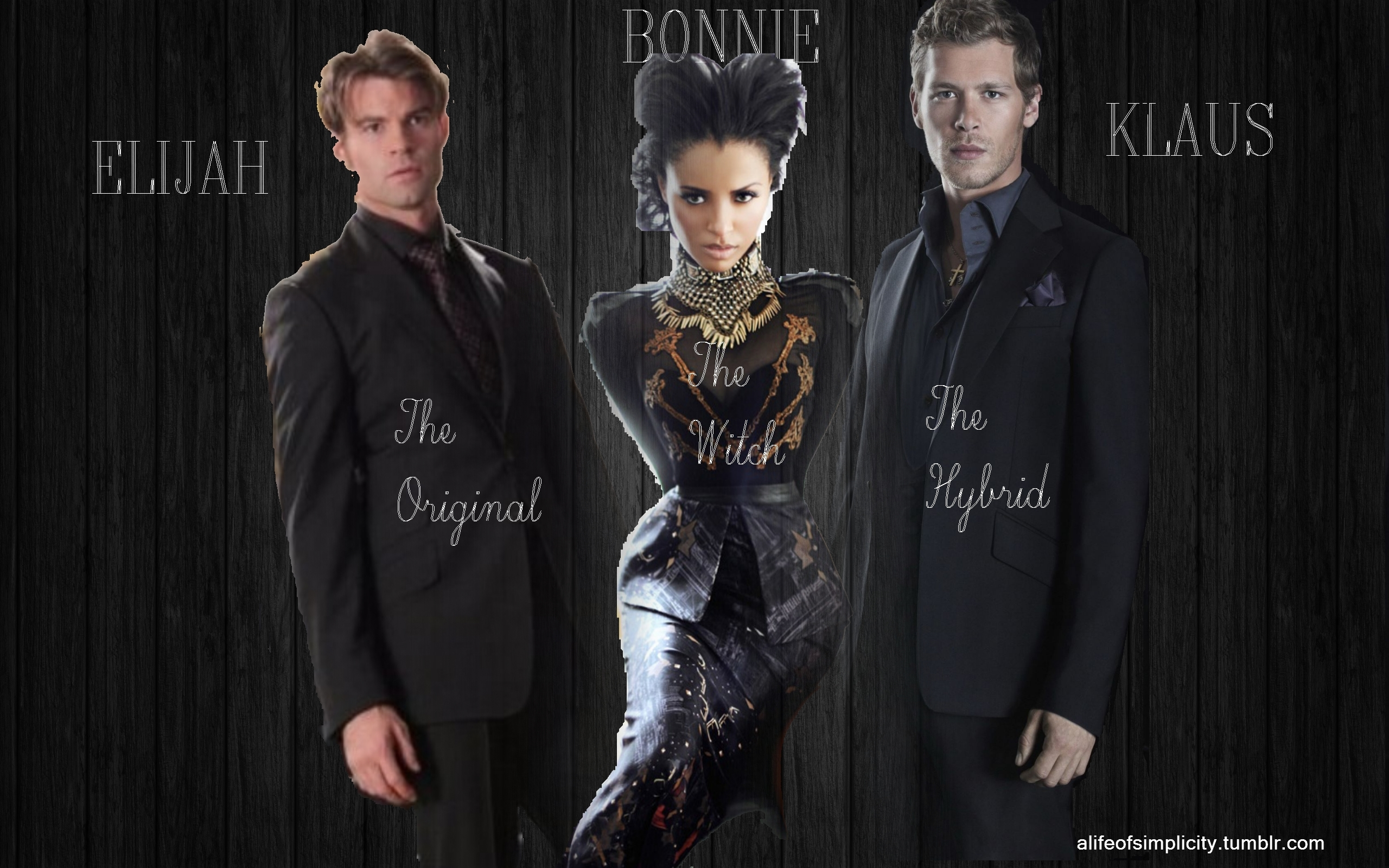 Klaus And Bonnie Images The Original Witch Hybrid Hd Wallpaper Background Photos