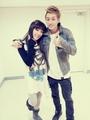 Tiffany Selca with Eunhyuk