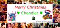 To: Chandler <3 Love: Your Secret Santa