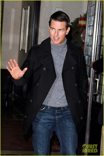 Tom Cruise: Late Show with David Letterman Visit!