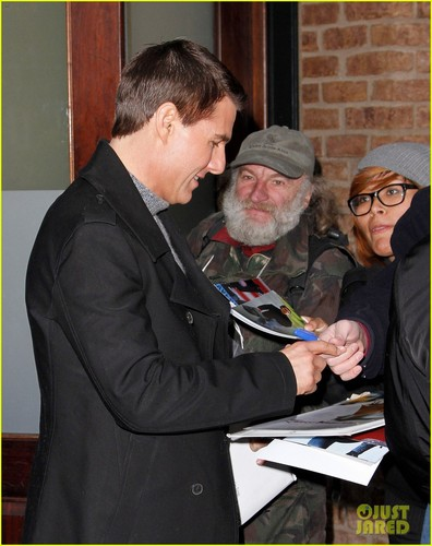 Tom Cruise: Late toon with David Letterman Visit!