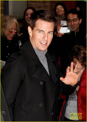 Tom Cruise: Late ipakita with David Letterman Visit!