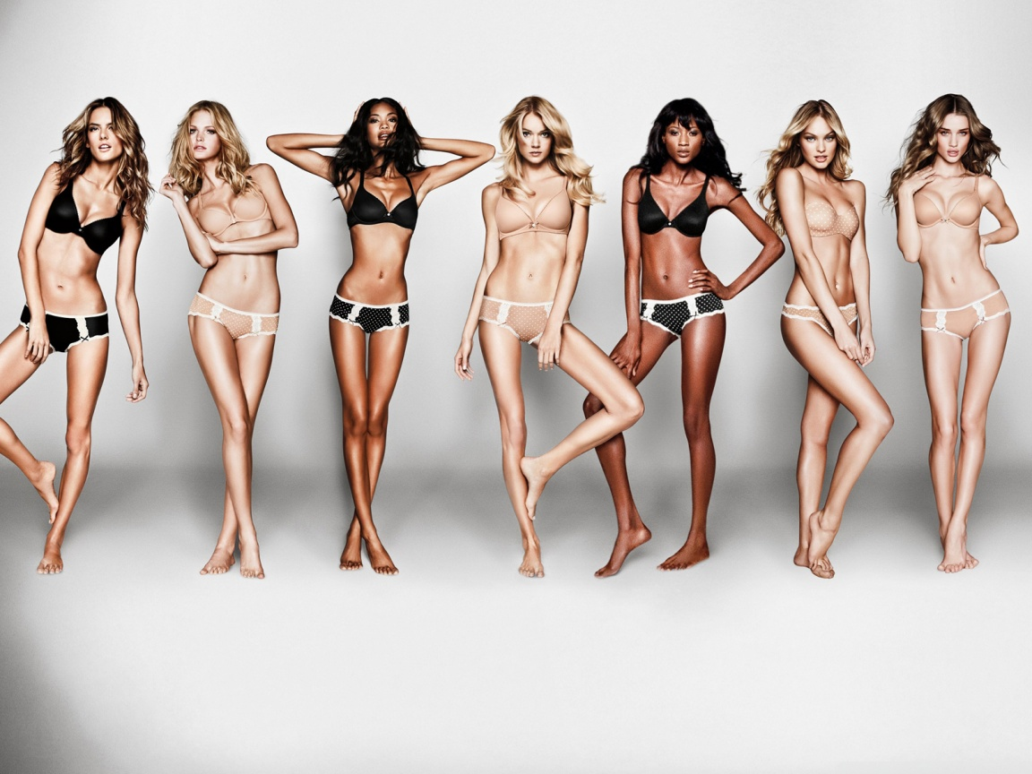 Victoria Secret Body Models