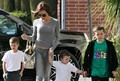 Victoria Beckham and her kids