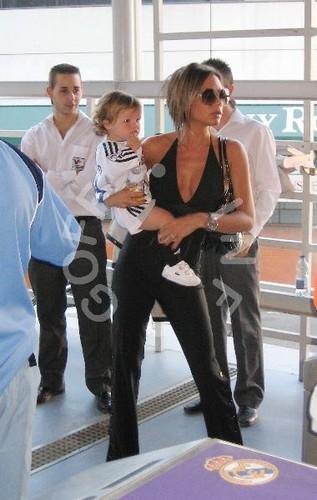 Victoria Beckham and her kids