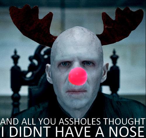 Voldemort The Red Nose Reindeer