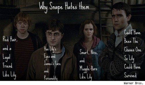 Why Snape Hates