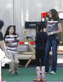 Will Smith's Kids and Blanket, Willow and Paris Michael Jackson's Kids Hang out - willow-smith photo