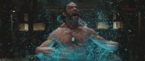 Hugh Jackman As Wolverine Wallpaper Containing A Fountain Called X Men Origins