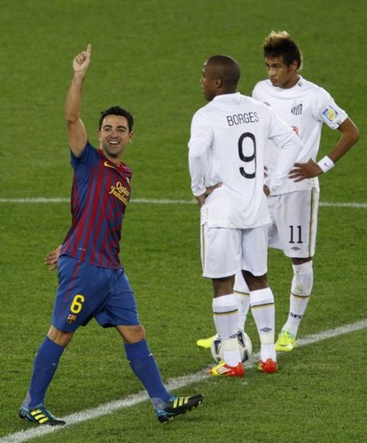 Xavi Hernandez images Xavi Hernandez:Santos FC (0) v FC Barcelona (4) - FIFA Club World Cup [Final] wallpaper and background photos