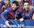 Xavi Hernandez:Santos FC (0) v FC Barcelona (4) - FIFA Club World Cup [Final]