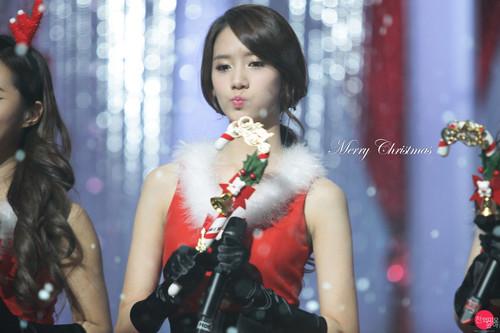 Yoona @ MBC クリスマス SPECIAL