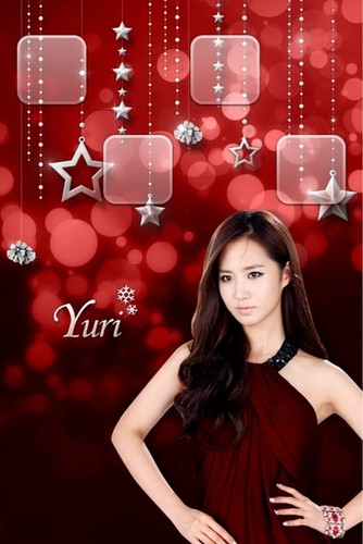 Yuri @ skin winter gift app - Individual Wallpaper