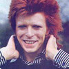 Ziggy Stardust picha with a portrait entitled Ziggy ikoni