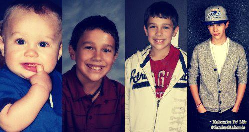 baby austin to now austin :D - austin-mahone Photo
