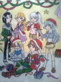 bakugan christmas party - only-shun-kazami fan art