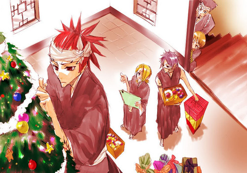 bleach Рождество