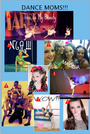 The Girls Of Dance Moms wallpaper probably with anime called dance moms