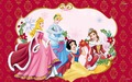 disney-christmas - disney-princesses-at-christmas  wallpaper