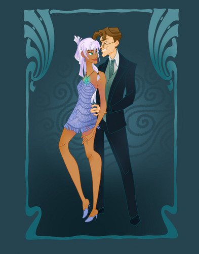 Classic Disney wallpaper probably containing a leotard titled disney prom