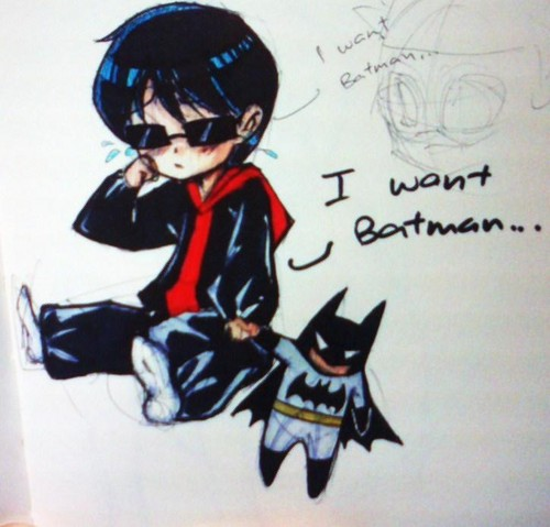 i want Batman