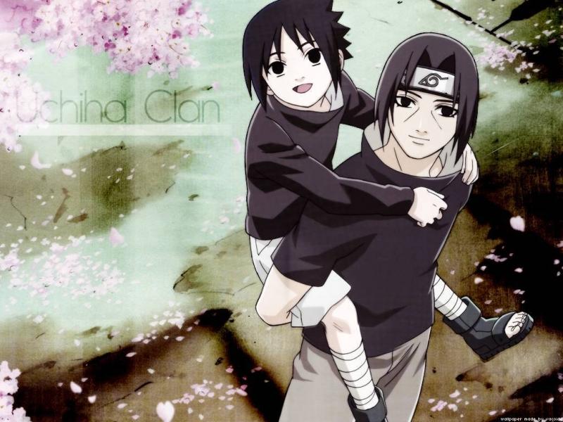 anime naruto all character itachi and sasuke