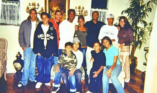 jermaine jacksons family with his kids and ex wife