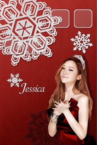 jessica@skin winter gift app - Individual wallpaper