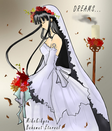 Inuyasha girls Hintergrund called kikyo's wedding Tag