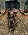 my new Dragon armor in skyrim