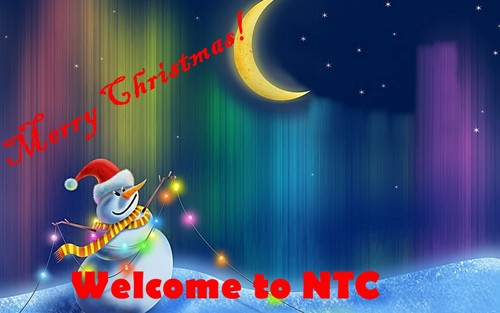 Christmas wallpaper titled nic
