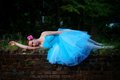 pretty blue tutu - ballet photo