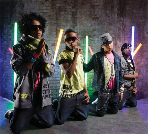 Mindless Behavior kertas dinding entitled princeton and prodigy and child