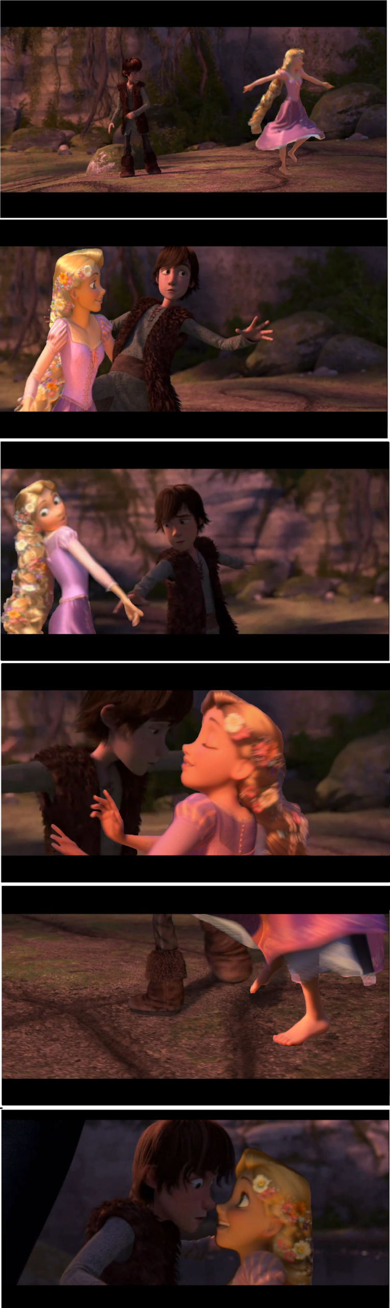 rapunzel and hiccup-dance