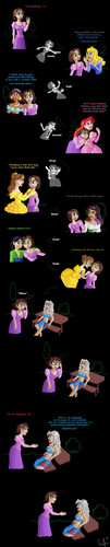 relateable - disney-princess Fan Art