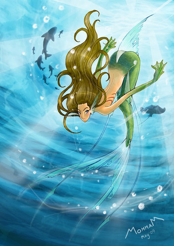Mermaids wallpaper entitled <3